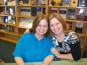 Author Theresa Sneed and Author Betsy Love